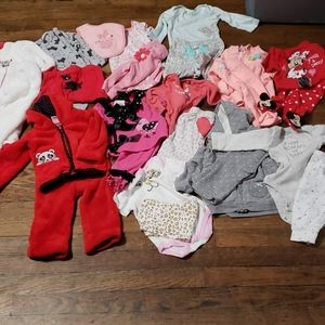 12 Baby Girl 3-6 Month Outfits